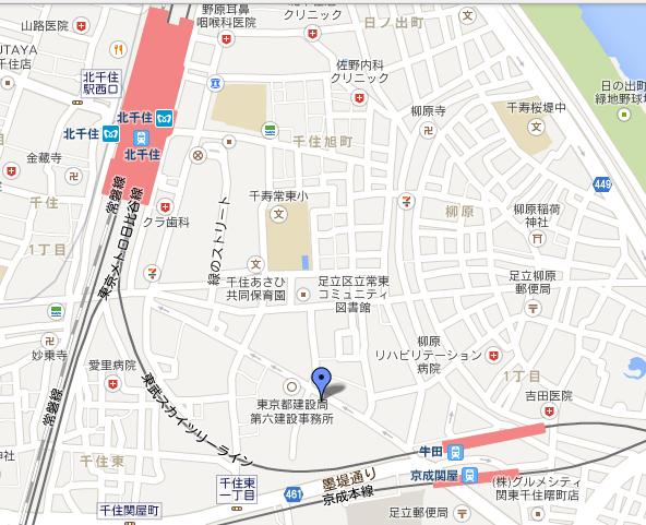 東京東部事業本部地図